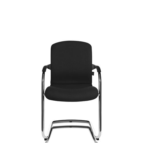 Contemporary visitor chair / stackable / cantilever / with armrests ALUMEDIC 60 Wagner - Eine Marke der Topstar GmbH