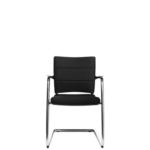 Contemporary visitor chair / with armrests / upholstered / cantilever ERGOMEDIC 110-4 Wagner - Eine Marke der Topstar GmbH