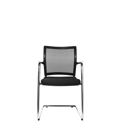 Contemporary visitor chair / with armrests / upholstered / cantilever ERGOMEDIC 110-2 Wagner - Eine Marke der Topstar GmbH