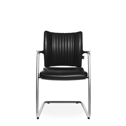 Contemporary visitor chair / with armrests / upholstered / cantilever TITAN LIMITED S VISIT Wagner - Eine Marke der Topstar GmbH