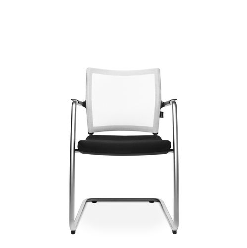 Contemporary visitor chair / upholstered / with armrests / cantilever TITAN 10 VISIT Wagner - Eine Marke der Topstar GmbH