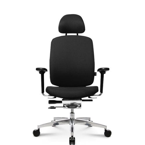 Contemporary executive chair / leather / fabric / aluminum ALUMEDIC 20 Wagner - Eine Marke der Topstar GmbH