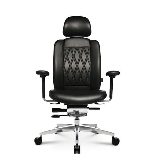 Contemporary executive chair / leather / aluminum / on casters ALUMEDIC LIMITED S Wagner - Eine Marke der Topstar GmbH