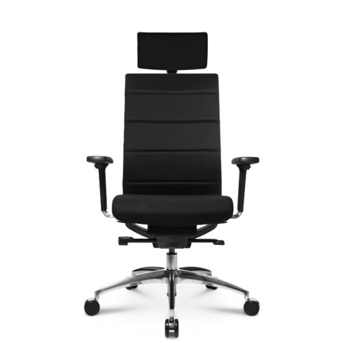 Contemporary office armchair / leather / on casters / star base ERGOMEDIC 100-4 Wagner - Eine Marke der Topstar GmbH
