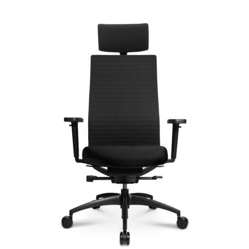 Contemporary office armchair / leather / on casters / star base ERGOMEDIC 100-3 Wagner - Eine Marke der Topstar GmbH