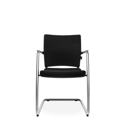 Contemporary visitor chair / upholstered / cantilever / with armrests TITAN 20 VISIT Wagner - Eine Marke der Topstar GmbH