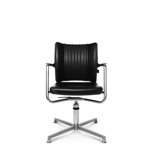 Contemporary visitor chair / with armrests / upholstered / star base TITAN LIMITED S COMFORT 3D VISIT Wagner - Eine Marke der Topstar GmbH