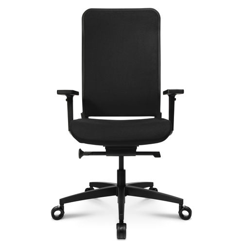Contemporary office armchair / fabric / leather / on casters W-1 C HIGH Wagner - Eine Marke der Topstar GmbH