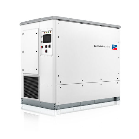 solar inverter / central / with transformer