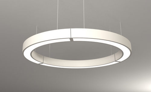 surface-mounted light fixture / hanging / LED / aluminum