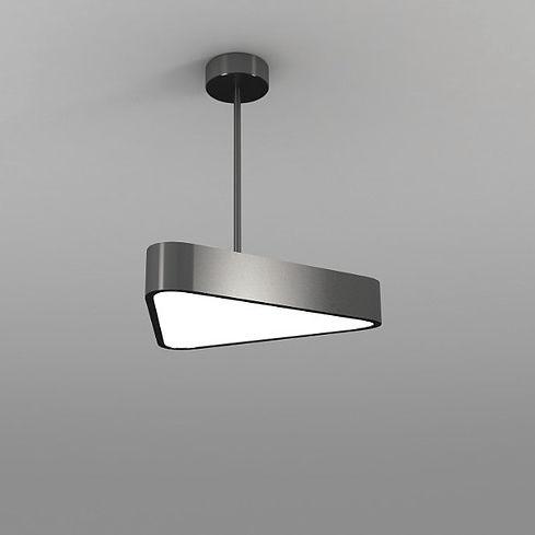 hanging light fixture / LED / aluminum / plastic