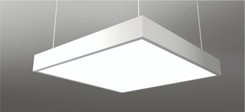 Hanging light fixture / LED / square / aluminum NAS NEONNY