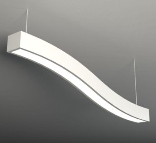 Hanging light fixture / LED / aluminum / plastic NAC NEONNY