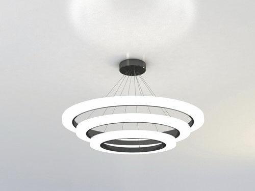 Pendant lamp / contemporary / aluminum / acrylic RING  NEONNY