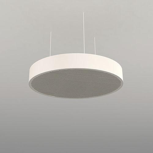 hanging light fixture / LED / square / round