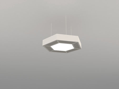 surface-mounted light fixture / hanging / LED / aluminum