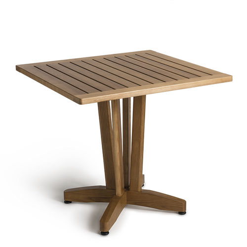 Contemporary table / wooden / square / for public buildings ERCOLE PALMAR arredi