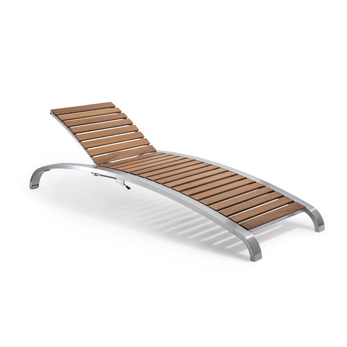 contemporary sun lounger - PALMAR arredi