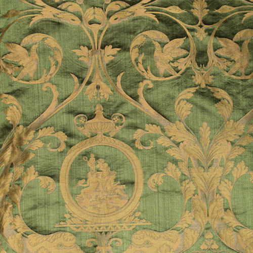 upholstery fabric / patterned / plain / cotton