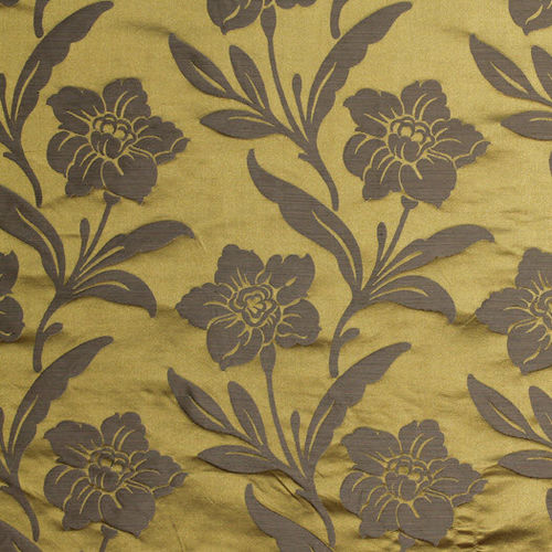 upholstery fabric / floral pattern / plain / striped