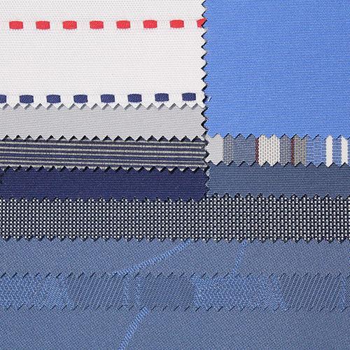 upholstery fabric / patterned / plain / PVC