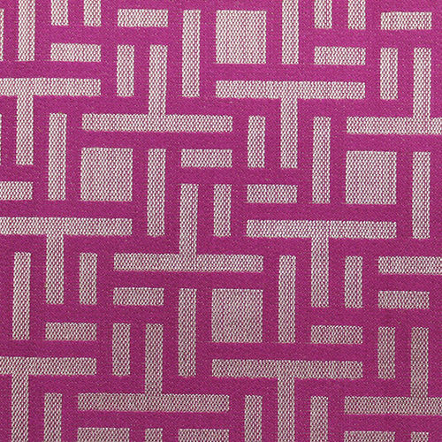 upholstery fabric / patterned / cotton / polyester
