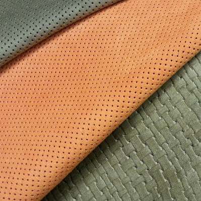 natural upholstery leather / plain / patterned