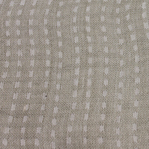 curtain fabric / patterned / polyester / linen