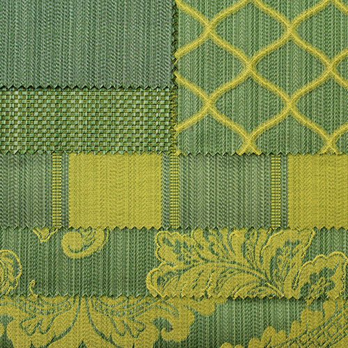 upholstery fabric / patterned / polyester / acrylic