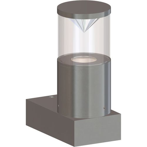 contemporary wall light / outdoor / anodized aluminum / LED