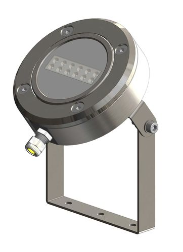 Pool light housing SURFACE-MOUNT RIGHT-ANGLE NICHE ACCESSORY ASTEL LIGHTING