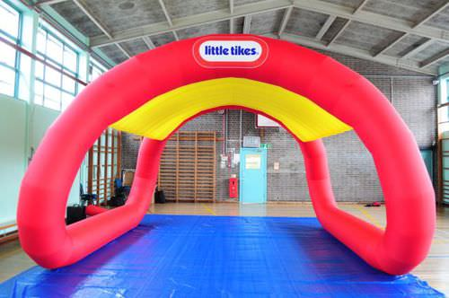Special event inflatable structure CANAPÉ Studio Souffle