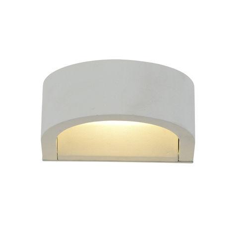 contemporary wall light / outdoor / aluminum / PMMA
