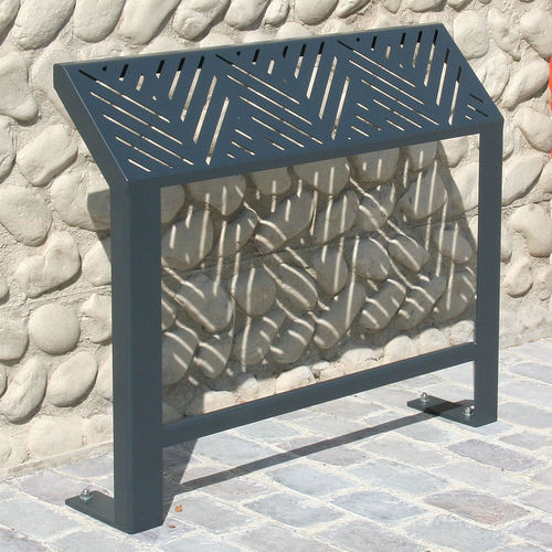 Stand-up bench / public / contemporary / steel FRANCIS ACCENTURBA