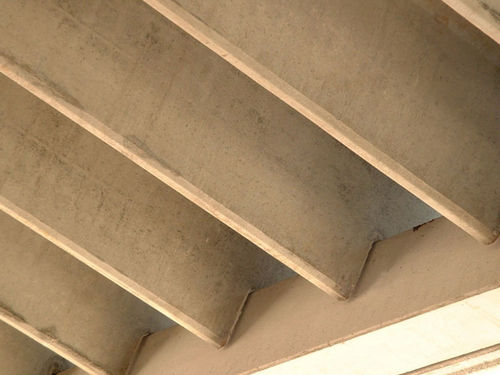 Flat beam / reinforced concrete / double T / for floors Pujol