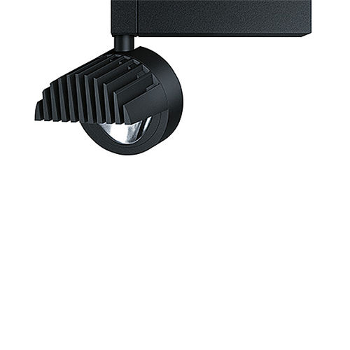 LED track light / round / cast aluminum / for shops INTRO LITECARVE® ZUMTOBEL
