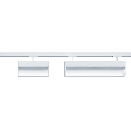 LED track lights / linear / cast aluminum / commercial ARCOS by David Chipperfield ZUMTOBEL
