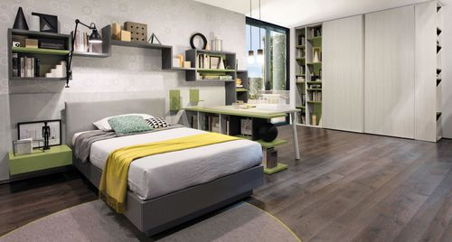 melamine children's bedroom furniture set / unisex