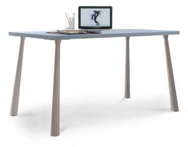 wooden desk / metal / contemporary / child's