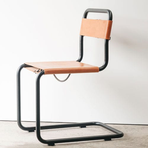 Bauhaus design chair / cantilever / wooden / molded plywood