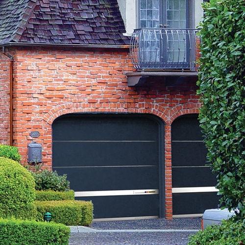Sectional garage doors / steel / automatic MODERN STYLE KOPRON