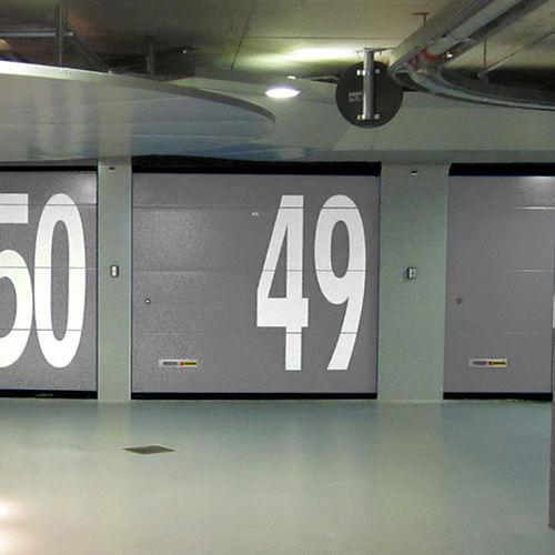 Sectional garage doors / steel / automatic KOPRON