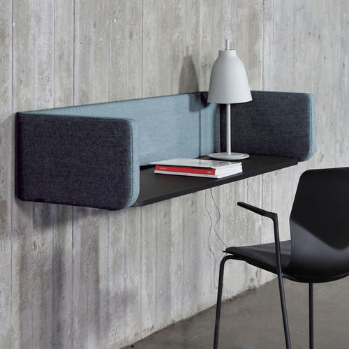 countertop office divider / fabric