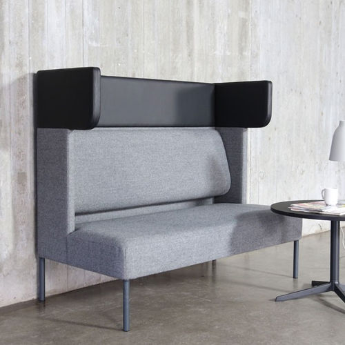Contemporary sofa / fabric / for public buildings / 2-seater FOUR®US Four Design