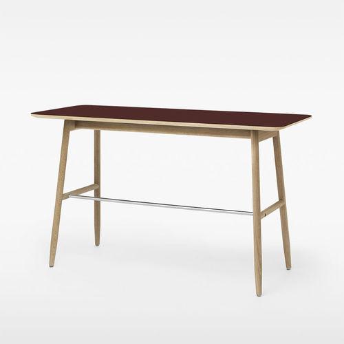 oak desk / contemporary / commercial
