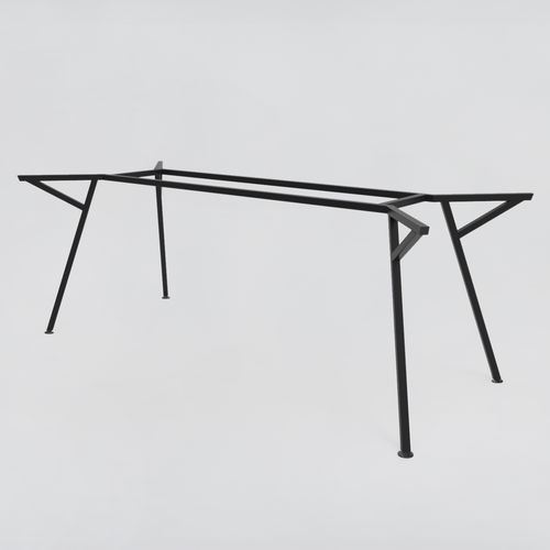 powder-coated steel table base / contemporary