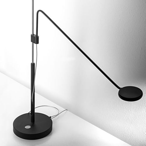 table lamp / contemporary / aluminum / adjustable