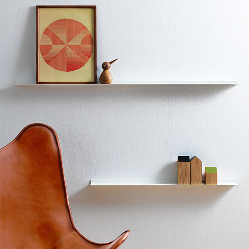 modular shelf / wall-mounted / contemporary / aluminum