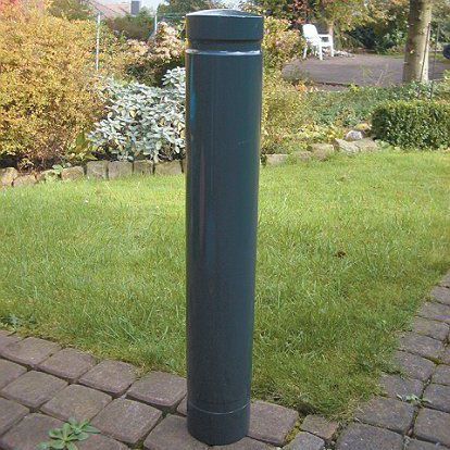 security bollard / aluminum / high