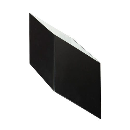 contemporary wall light / metal / compact fluorescent / square